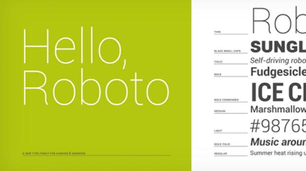 Webdesign: Android-Roboto-Font zum kostenfreien Download