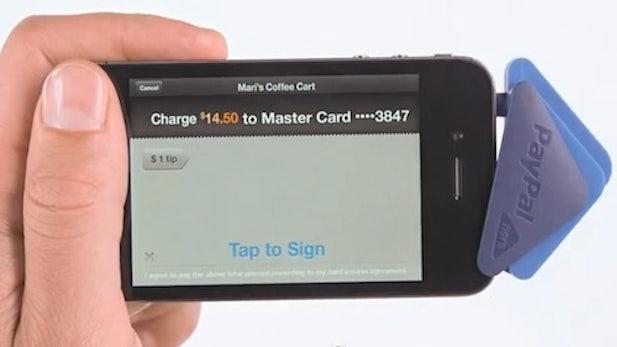 PayPal Here macht Smartphones zur Kasse