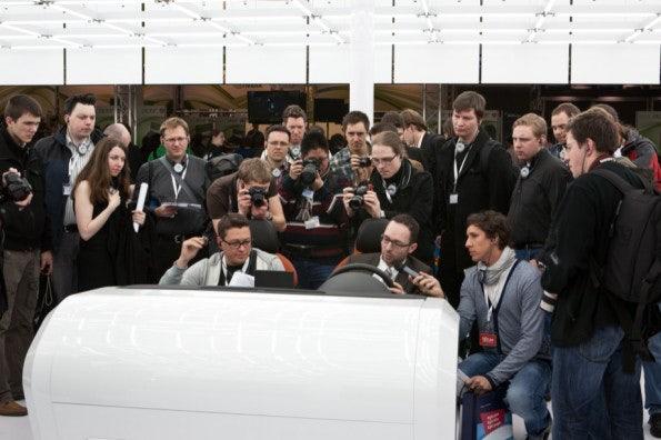 Audi zeigte uns einen Blick in die vernetzte Autowelt von morgen.