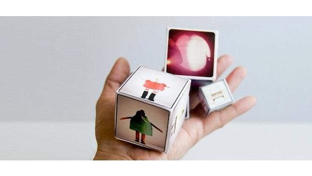 Schicke Fotowürfel mit Instagram und dem Dienst Printsgram.