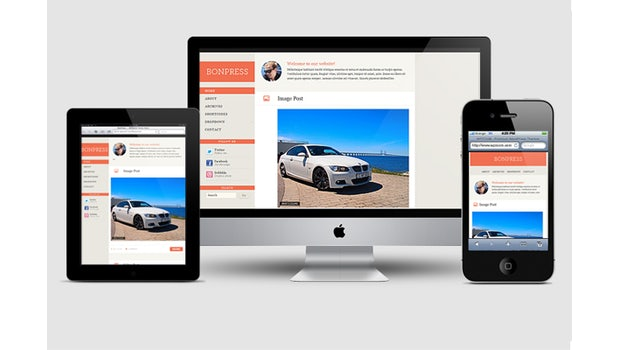 Responsive WordPress-Theme: BonPress