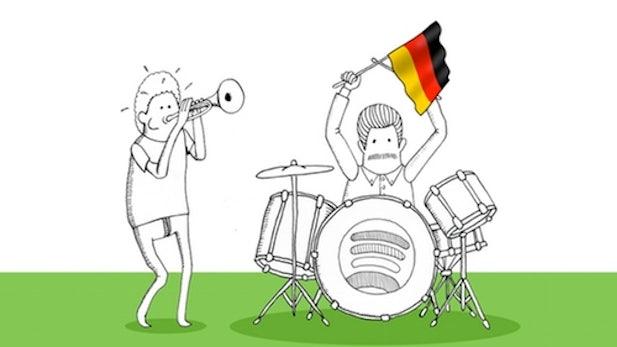 Spotify: Musik auch im Browser hören