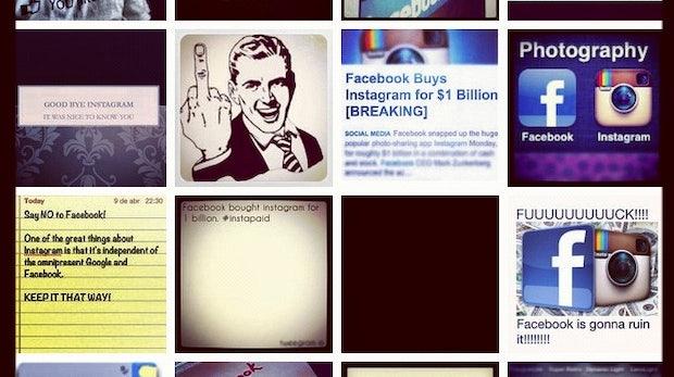 Auf dem visuellen Auge blind: Wieso der Facebook-Instagram-Deal unterschätzt wird