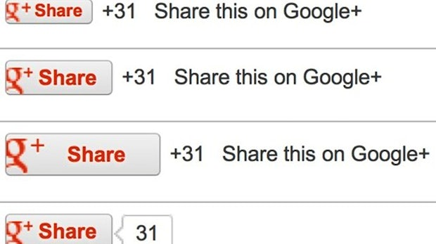 Google+ Share-Button für Websites ist da