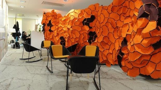 Google-Büros in Schweden: Buntes aus dem IKEA-Land
