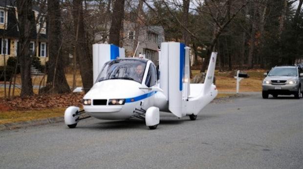 Der Traum vom Fliegen: Ab 2013 auch mit dem Auto