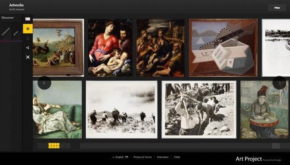 Das Google Art Project macht besonders viel Spaß, wenn man ein wenig in der umfassenden Kunstsammlung stöbert.