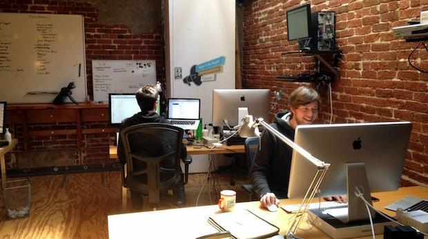 Das Jimdo-Office in San Francisco: Von hier arbeiten unsere Redakteure an der Westküste.