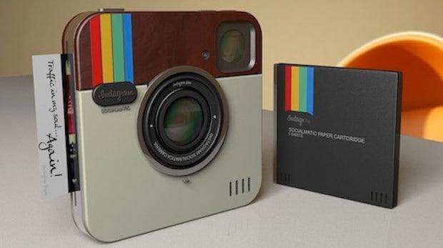 Instagram-Kamera Designstudie - nicht als App, sondern echte Hardware