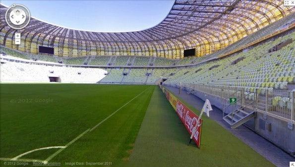 Die EM-Stadien 2012 werden schon in wenigen Wochen Schauplatz spannender Aufeinandertreffen internationaler Mannschaften sein. Hier das Stadion im polnischen Danzig.