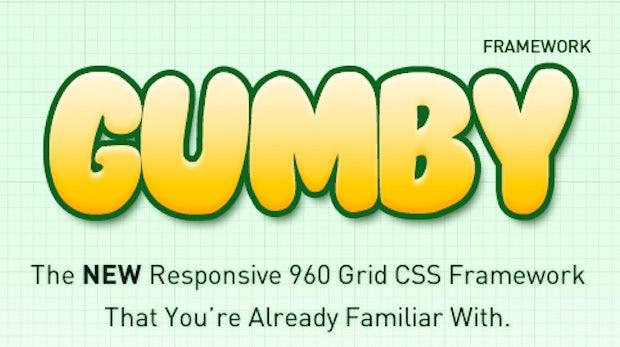 Responsive Webdesign: flexibles CSS-Framework Gumby bringt UI-Toolkit mit