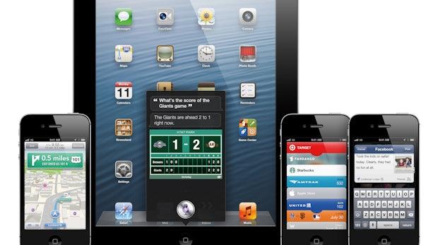 Apple stellt iOS 6 vor, Siri auch fürs iPad, Mountain Lion kommt im Juli
