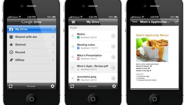 Google Drive-ios