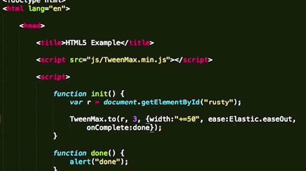 Greensock Animation Platform: Flüssige Animationen mit JavaScript