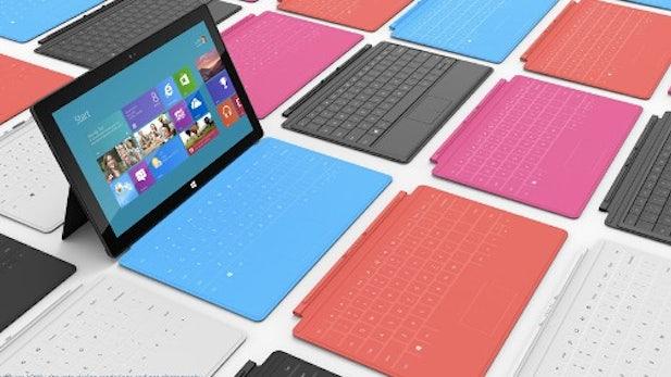 Microsoft soll an 7-Zoll-Surface-Tablet arbeiten