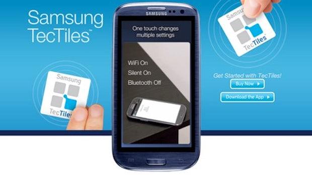 Samsung TecTiles: programmierbare NFC-Sticker für den Hausgebrauch