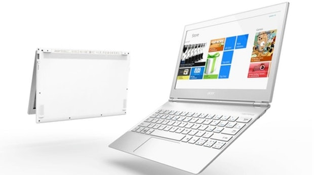 Acer Aspire S7 – Erstes Windows  8-Ultrabook mit Full-HD-Touch-Display