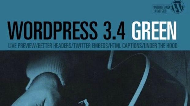 """WordPress 3.4 """"Green"""" steht zum Download bereit"""