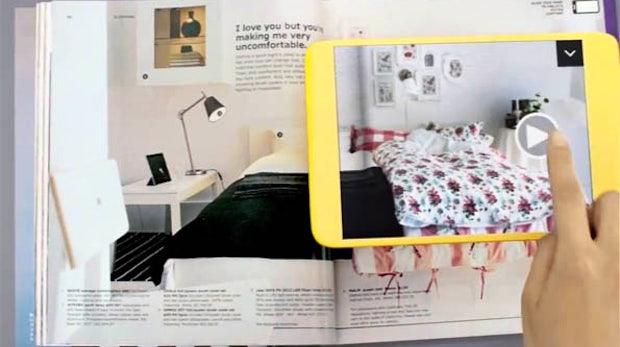 IKEA-Katalog 2013 mit Augmented Reality: Videos, Fotogalerien und Röntgenblick