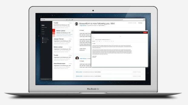 E-Mail-Client .mail: Designstudie wird Wirklichkeit