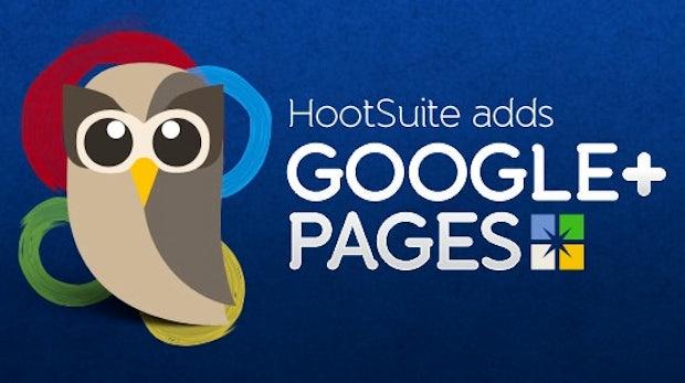 Google+ Pages lassen sich jetzt mit Hootsuite managen