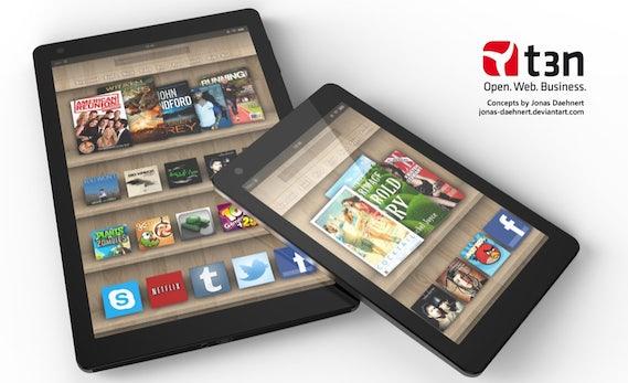 Kindle Fire 2: So könnte das neue Amazon-Tablet aussehen