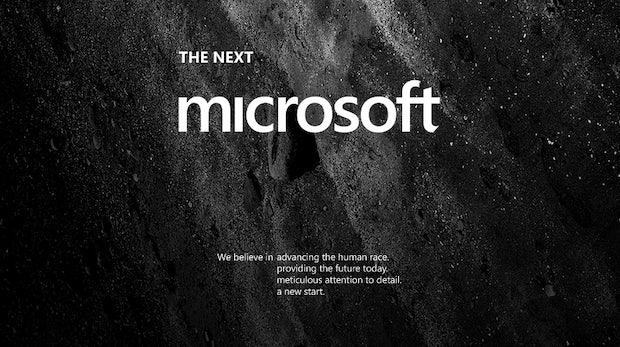 """Das neue Microsoft, nach Andrew Kim. <a href=""""http://www.minimallyminimal.com/journal/2012/7/3/the-next-microsoft.html"""">(Link zur Quelle)</a>"""
