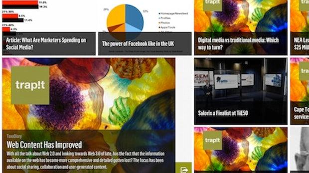 Trapit: Neuer iPad-News-Aggregator mit einem Schuss künstlicher Intelligenz