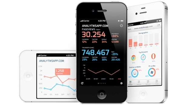 Google-Analytics-App für iOS: Analytiks 2 ist schick und schnell