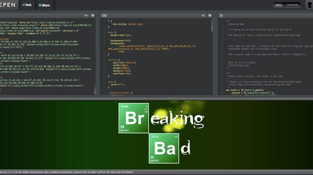 Breaking Bad: Serien-Intro in HTML5 nachgebaut