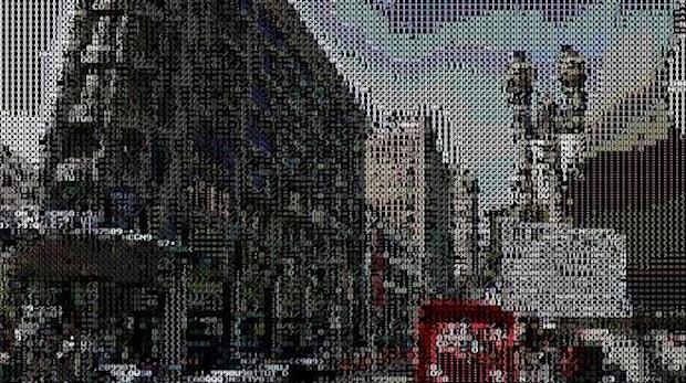 Google Street View durch die ASCII-Brille betrachtet