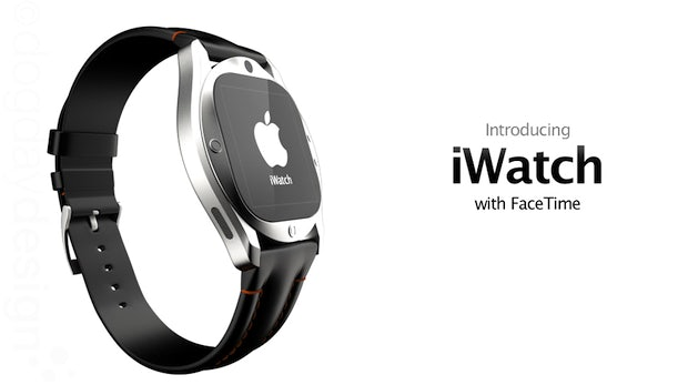 iWatch: Apple-Uhr mit Retina-Display und Facetime-Integration [Designstudie]