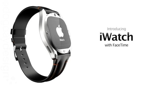 iWatch: Apple-Uhr mit Retina-Display und Facetime-Integration [Designstudie]