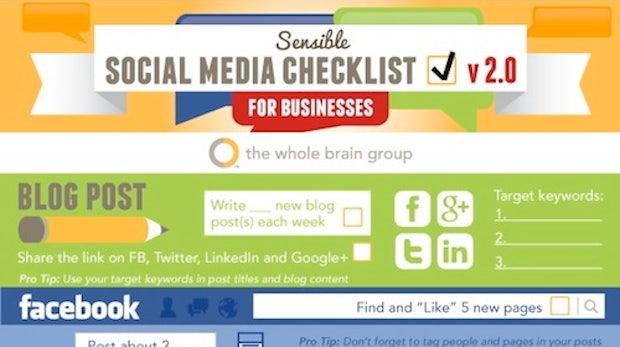 Social-Media: Checkliste für Unternehmen