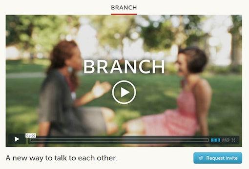 Branch: Social Network auf Twitter-Basis - für mehr als 140 Zeichen