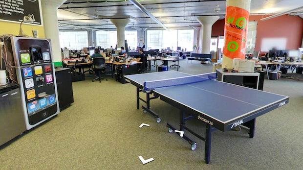Google Street View im Wired Office: Ein Rundblick hinter die Kulissen