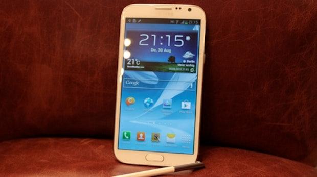 Samsung Galaxy Note 2 angefasst [IFA 2012]