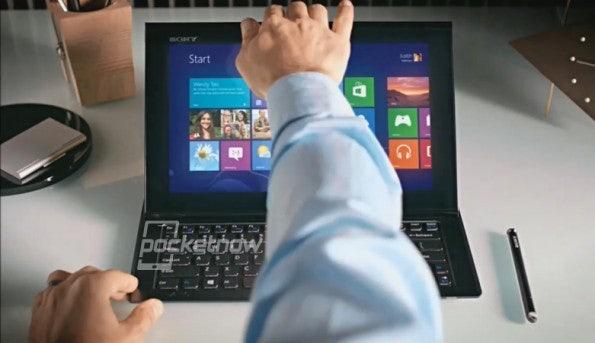 Das Sony VAIO Duo 11 – auch Sony springt wie erwartet auf den Windows-8-Zug auf (Bild: Sony/PocketNow)