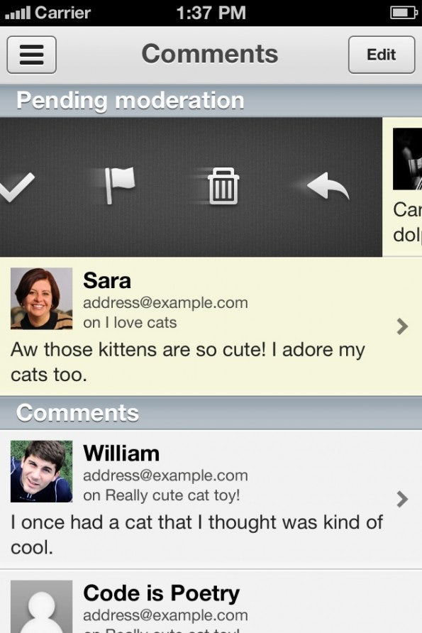 http://t3n.de/news/wp-content/uploads/2012/08/WordPress_iOS_03_comments-595x892.jpg