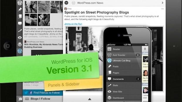WordPress für iOS mit großem Update und neuem Userinterface