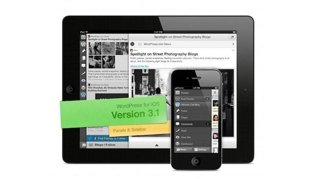 Die neue Version von WordPress für iOS macht das Bloggen auf dem iPhone und dem iPad viel angenehmer (BIld: WordPress.com)