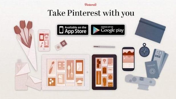 Pinterest startet mobil durch - Apps für iPad und Android veröffentlicht