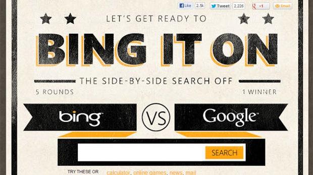 Mach den Test: Bing vs. Google – Wer gewinnt im Direktvergleich?