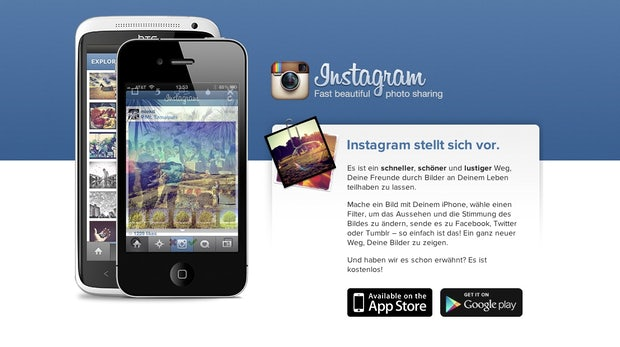Instagram Redesign: Mobile Website bietet neue Funktionen