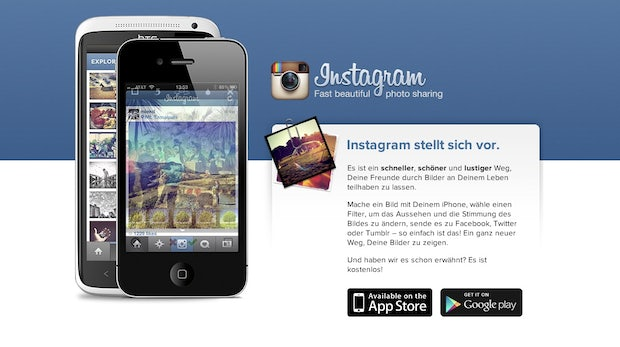 Instagram Redesign: Mobile Website bietet neue Funktionen