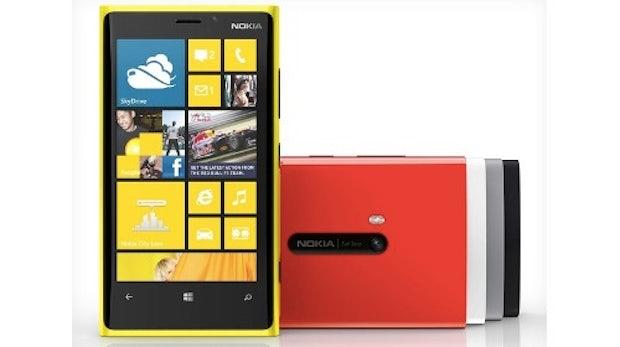 Lumia 920: Nokia präsentiert sein Windows-Phone-8-Flaggschiff
