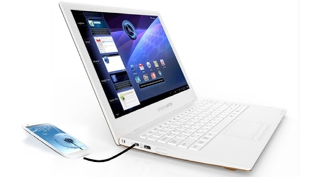 Spider Laptop: Mach dein Samsung Galaxy S3 zum Notebook
