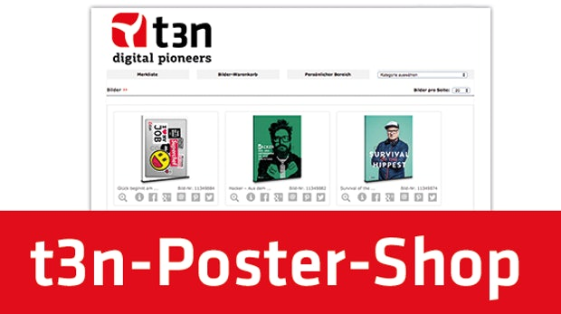 t3n-Poster-Shop: Hol dir das t3n-Cover an deine Wand!