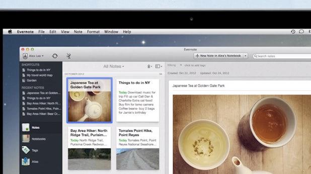 Evernote: Neue Mac-Version bringt 100 neue Features