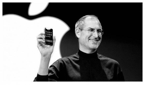 Steve Jobs und Apple revolutionierten mit dem iPhone die Handy-Welt. (Foto: Apple)